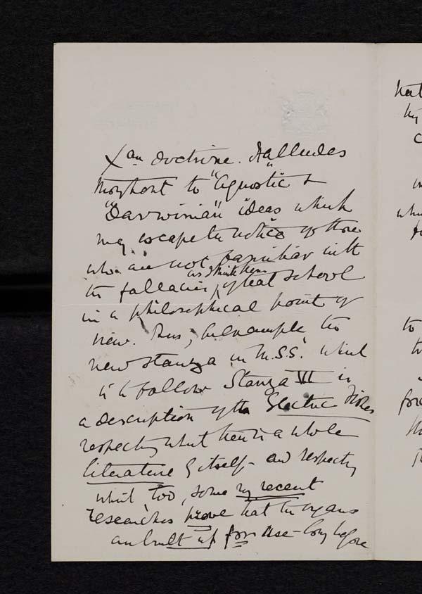Letter of the Duke of Argyll to John Murray, 22 February 1893 - Ms.40189 ff.26-27