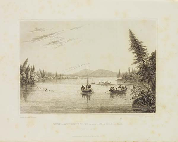 Illustrations from Sir John Franklin's 'Narrative of a Journey to the Shores of the Polar Sea', 1823 - MS.42236