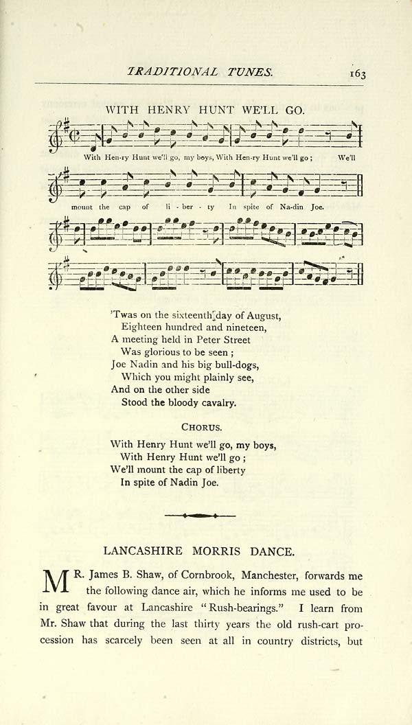 (167) Page 163 - Lancashire morris dance