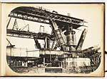 No. 2Fife S.W. skewback & tubes in  construction, 7 Sept. 1886