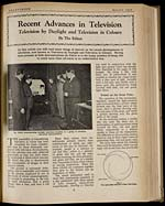 Recent advances in television : television by daylight and television in colours - Page 9