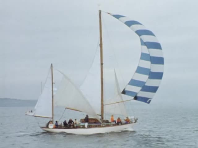 Full record for 'FILM REPORT ON THE START OF THE FAIR ISLE SAILING ...