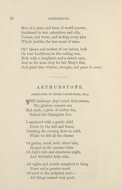 56) - Poetry > Poems and memorial verses, or, Selections
