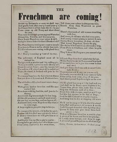(10) Frenchmen are coming
