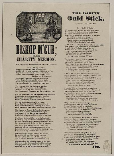 (19) Bishop M'Cue; or, the charity sermon