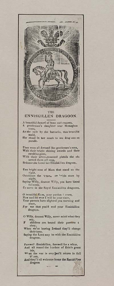 (15) Enniskillen dragoon