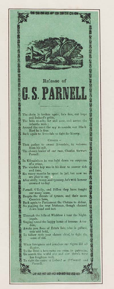 (24) Release of C S Parnell