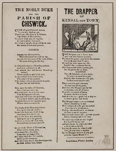(1) Noble Duke and the parish of Chiswick