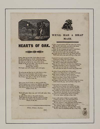 (30) Hearts of oak