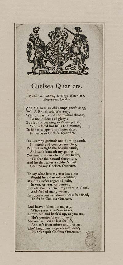 (31) Chelsea quarters