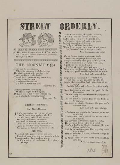 (26) Street orderly