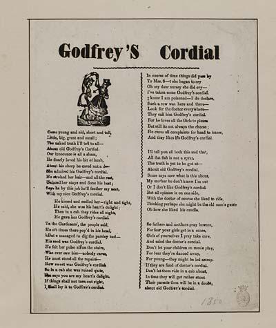(11) Godfrey's cordial