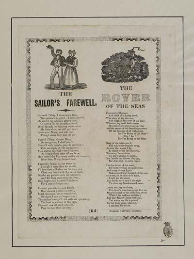 (14) Sailor's farewell