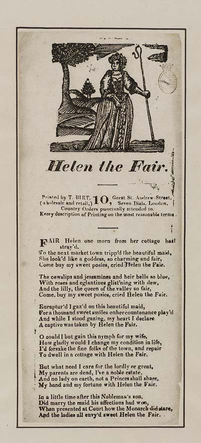 (49) Helen the fair