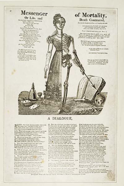 (2) Messenger of mortality, or, Life and death contrasted