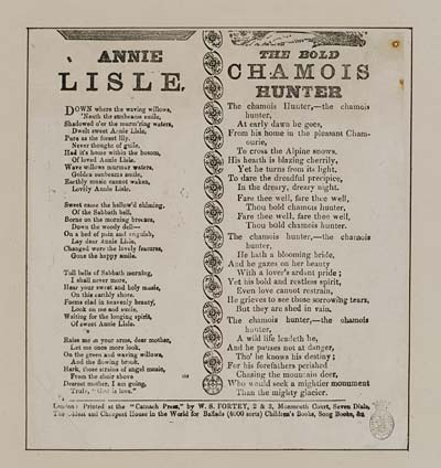 (3) Annie Lisle