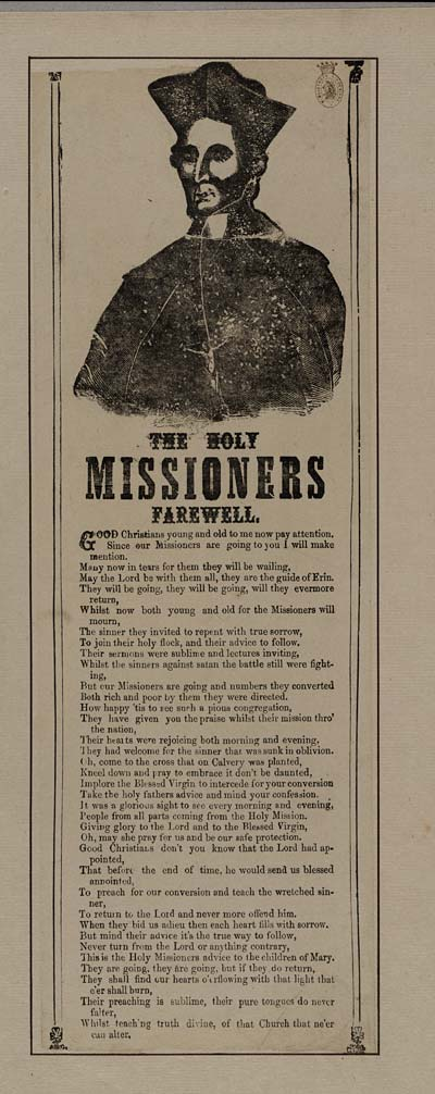 (31) Holy missioners farewell