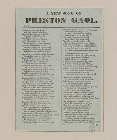 (38) New song on Preston gaol
