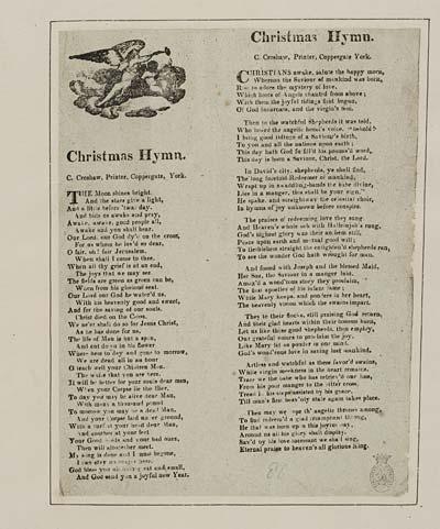 (45) Christmas hymn
