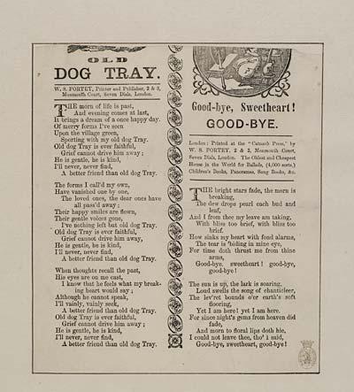 (9) Old dog Tray
