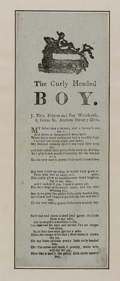 (32) Curly headed boy