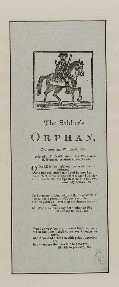(38) Soldier's orphan