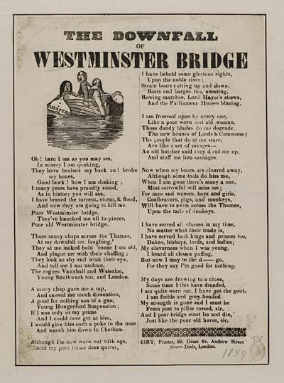 (47) Downfall of Westminster bridge