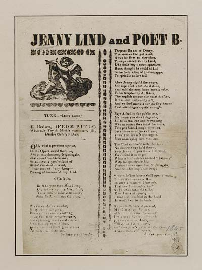 (25) Jenny Lind and poet B