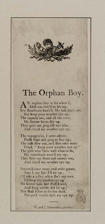 (43) Orphan boy