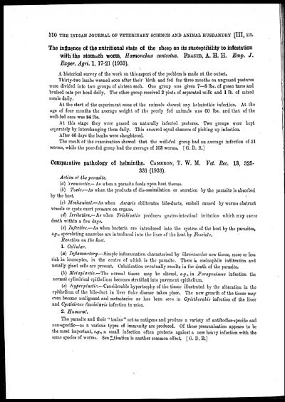 386) Page 310 - Medicine - Veterinary > Veterinary colleges and