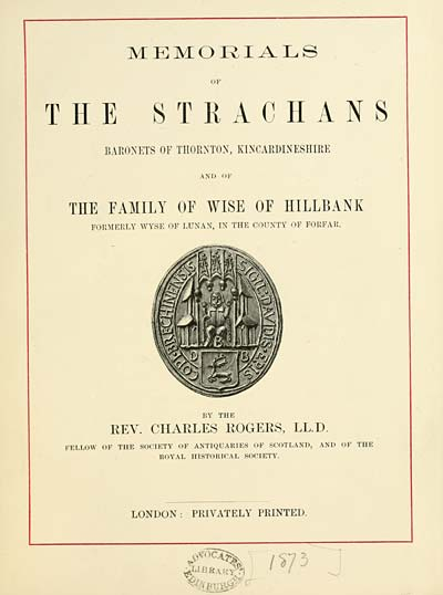 (7) Title Page -