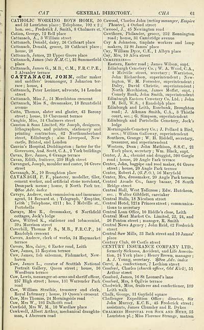 115) - Scottish Post Office Directories > Towns > Edinburgh > 1846