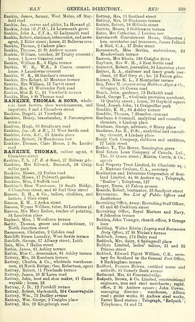 363 scottish post office directories towns for 17 learmonth terrace edinburgh