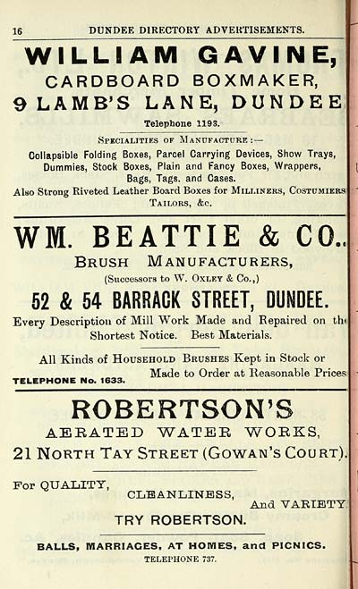 996) - Towns > Dundee > 1809-1912 - Dundee directory > 1910