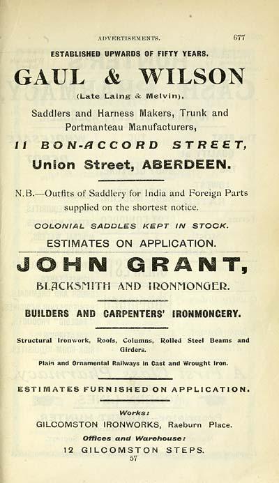 679) - Scottish Post Office Directories > Towns > Aberdeen > 1858