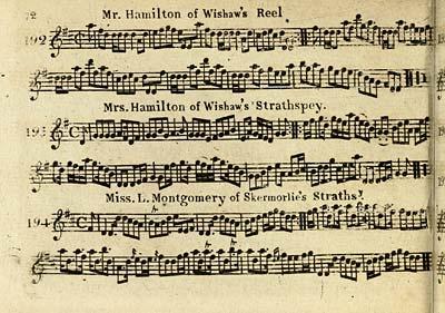 (74) Page 72 - Mr Hamilton of Wishaw's reel