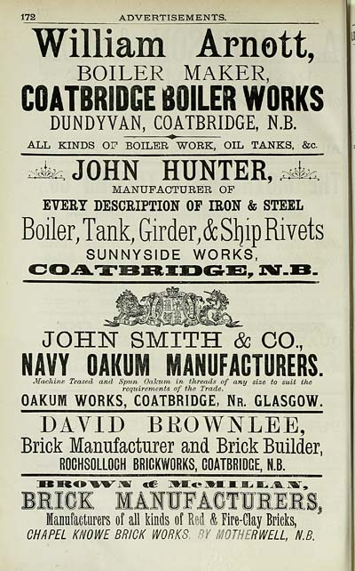 2160) - Scotland > 1882-1915 - Slater\'s Royal National Commercial ...