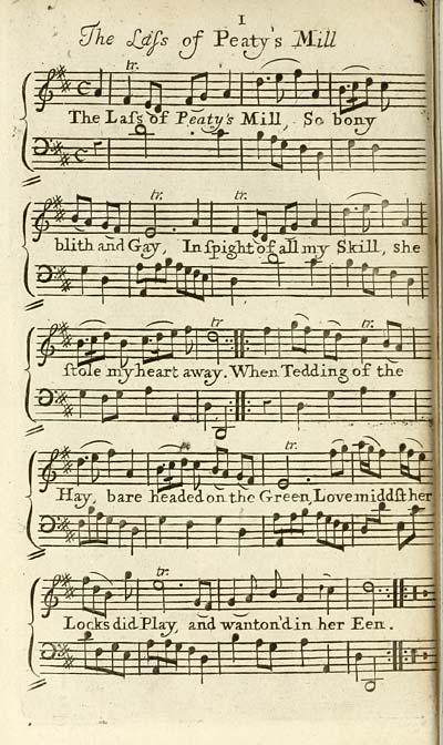 (26) Plate 1 - Lass of Peaty's Mill