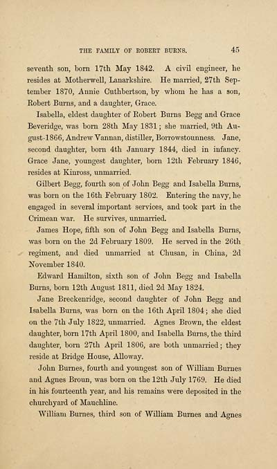 49) Page 44 - Genealogical memoirs of the family of Robert