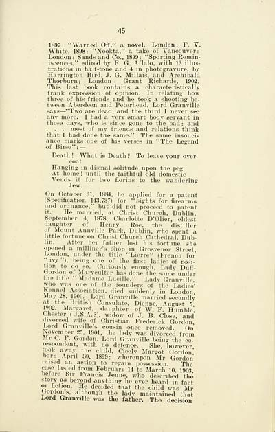 47 page 45 earls of aboyne histories of scottish families 47 page 45 sciox Gallery