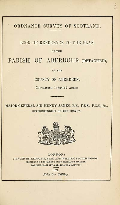 (135) 1871 - Aberdour (detached), County of Aberdeen