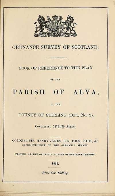(467) 1863 - Alva, County of Stirling