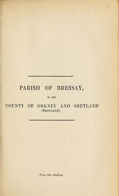 (617) 1880 - Bressay, County of Orkney and Shetland (Shetland)