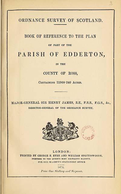 (47) 1873 - Edderton, County of Ross