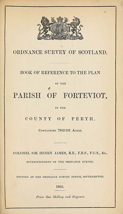 (113) 1862 - Forteviot, County of Perth