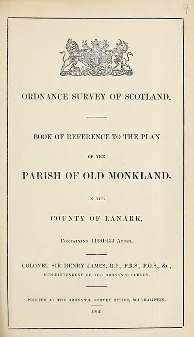 (247) 1860 - Old Monkland, County of Lanark
