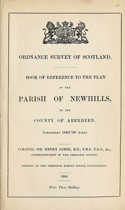 (87) 1866 - Newhills, County of Aberdeen