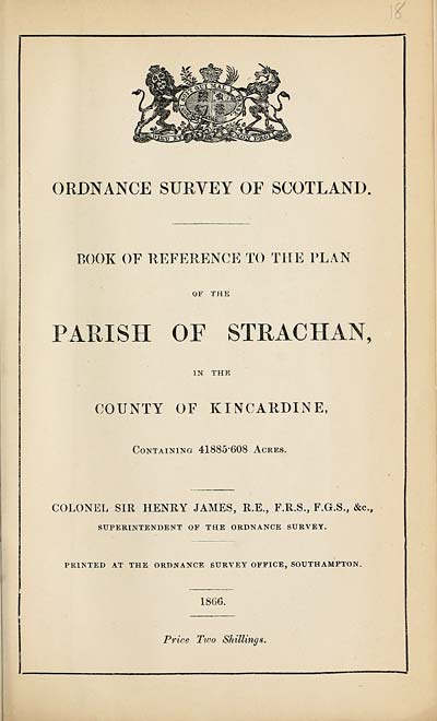 (379) 1866 - Strachan, County of Kincardine