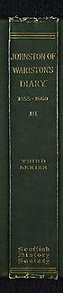 Thumbnail for 'Volume 34 - Diary of Sir Archibald Johnston of Wariston, 1655-1660'