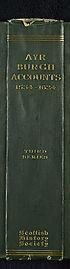 Thumbnail for 'Volume 28 - Ayr Burgh accounts, 1534-1624'
